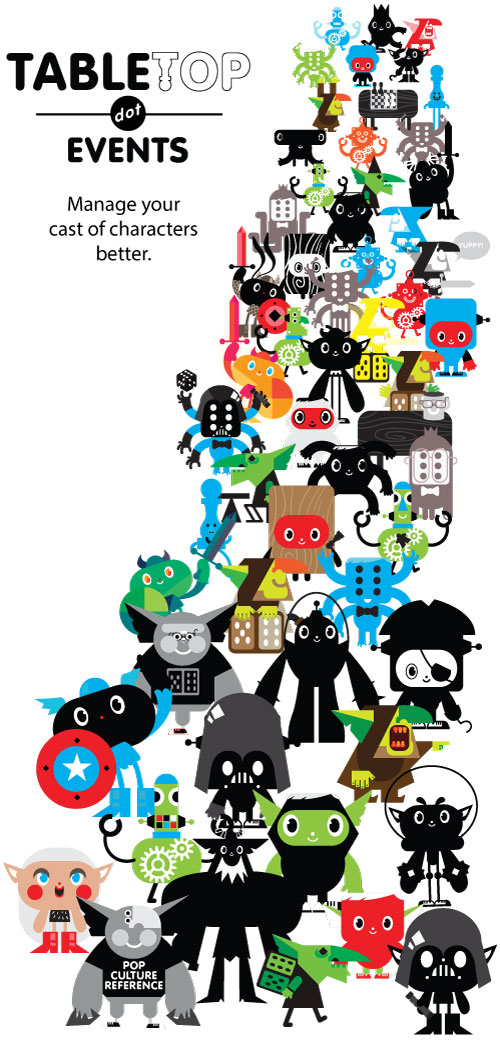 a large sea of attendees